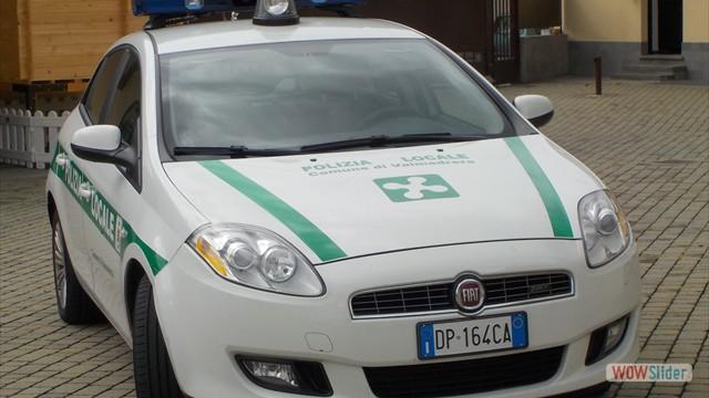 Allestimento veicoli per</br> Polizia Locale